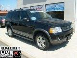 2003 Black Ford Explorer XLT 4x4 #48387236