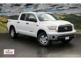 2011 Super White Toyota Tundra TRD CrewMax 4x4 #48387261