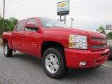 2011 Victory Red Chevrolet Silverado 1500 LT Crew Cab #48387528