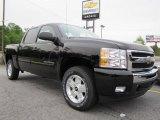 2011 Black Chevrolet Silverado 1500 LT Crew Cab 4x4 #48387531