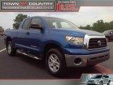 2008 Blue Streak Metallic Toyota Tundra SR5 Double Cab #48387695