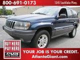 2002 Patriot Blue Pearlcoat Jeep Grand Cherokee Laredo #48387853