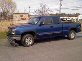 2003 Arrival Blue Metallic Chevrolet Silverado 1500 LS Extended Cab 4x4 #48387565
