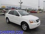 2009 Clear White Kia Sorento LX 4x4 #48387863