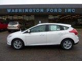 2012 White Platinum Tricoat Metallic Ford Focus SEL 5-Door #48387578