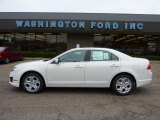 2011 White Suede Ford Fusion SE #48387581