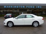 2011 White Suede Ford Fusion SE #48387583