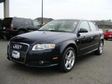 2008 Deep Sea Blue Pearl Effect Audi A4 2.0T quattro Sedan #48387728