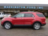 2011 Red Candy Metallic Ford Explorer XLT 4WD #48387588