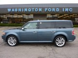 2010 Steel Blue Metallic Ford Flex Limited AWD #48387600