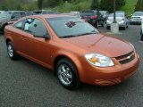 2007 Sunburst Orange Metallic Chevrolet Cobalt LS Coupe #48431210