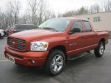 2007 Dodge Ram 1500 Sunburst Orange Pearl