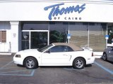 2003 Oxford White Ford Mustang V6 Convertible #48431124