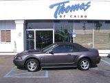 2003 Dark Shadow Grey Metallic Ford Mustang V6 Convertible #48431125