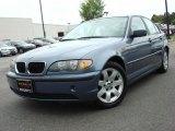 2003 Steel Blue Metallic BMW 3 Series 325i Sedan #48431039