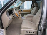 2007 Lincoln Navigator Ultimate Camel Interior