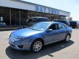 2010 Sport Blue Metallic Ford Fusion SEL V6 #48387401