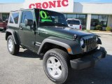 2010 Natural Green Pearl Jeep Wrangler Sport 4x4 #48431061
