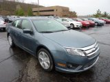 2011 Steel Blue Metallic Ford Fusion SE #48387427