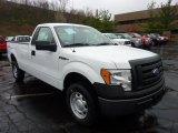 2011 Oxford White Ford F150 XL Regular Cab 4x4 #48387434