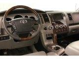 2010 Toyota Tundra Platinum CrewMax 4x4 Graphite Gray Interior