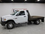 2008 Bright White Dodge Ram 3500 ST Regular Cab Chassis #48460228