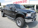 2005 Black Ford F350 Super Duty Lariat Crew Cab 4x4 #48460686