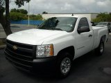 2009 Summit White Chevrolet Silverado 1500 Regular Cab #48460552