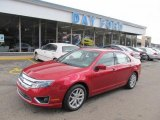 2010 Sangria Red Metallic Ford Fusion SEL V6 #48460556