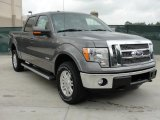 2011 Sterling Grey Metallic Ford F150 Lariat SuperCrew 4x4 #48460706