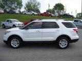 2011 White Platinum Tri-Coat Ford Explorer XLT 4WD #48460511