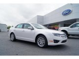 2011 White Platinum Tri-Coat Ford Fusion SEL V6 #48460611
