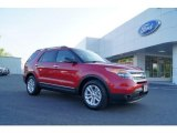 2011 Red Candy Metallic Ford Explorer XLT #48460612