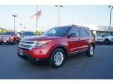 2011 Ford Explorer Red Candy Metallic