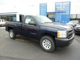 2011 Imperial Blue Metallic Chevrolet Silverado 1500 Regular Cab 4x4 #48460635