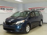 2011 South Pacific Blue Pearl Toyota Sienna V6 #48460996