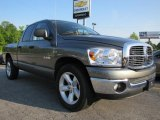 2008 Mineral Gray Metallic Dodge Ram 1500 Big Horn Edition Quad Cab #48460745