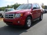 2009 Torch Red Ford Escape XLT #48460897