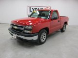 2007 Victory Red Chevrolet Silverado 1500 Classic Work Truck Regular Cab #48502398