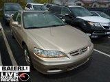 2002 Naples Gold Metallic Honda Accord EX V6 Coupe #48502605