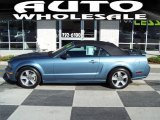 2006 Windveil Blue Metallic Ford Mustang GT Premium Convertible #48502719