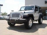 2011 Bright Silver Metallic Jeep Wrangler Sport S 4x4 #48502762