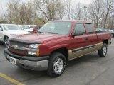 2004 Sport Red Metallic Chevrolet Silverado 1500 Z71 Extended Cab 4x4 #48502813