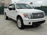 2011 White Platinum Metallic Tri-Coat Ford F150 Platinum SuperCrew 4x4 #48520616