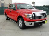 2011 Race Red Ford F150 XLT SuperCrew #48520617
