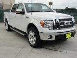 2011 White Platinum Metallic Tri-Coat Ford F150 Lariat SuperCrew 4x4 #48520619