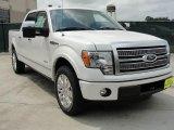 2011 White Platinum Metallic Tri-Coat Ford F150 Platinum SuperCrew #48520624