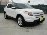 2011 White Platinum Tri-Coat Ford Explorer Limited #48520627