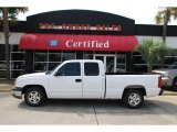 2003 Summit White Chevrolet Silverado 1500 LS Extended Cab #48520356