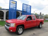 2011 Victory Red Chevrolet Silverado 1500 LT Extended Cab 4x4 #48520373